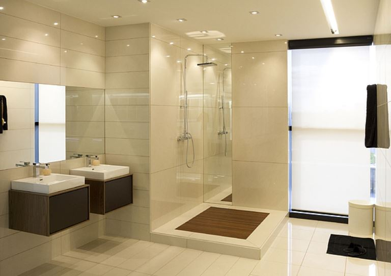 different tile types to upgrade bathroom wall and floor