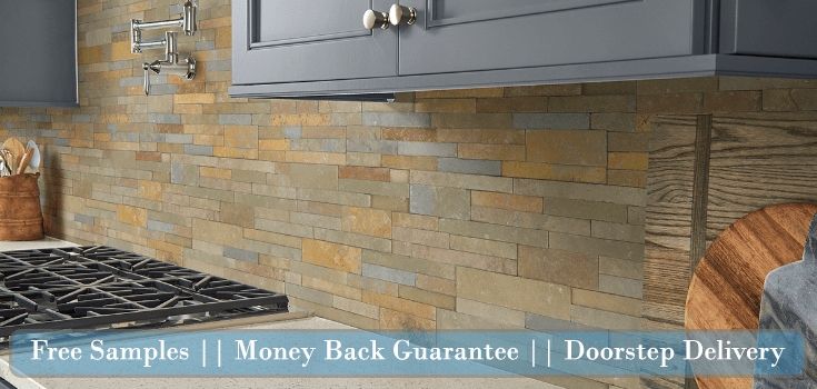 Backsplash Stacked Stone