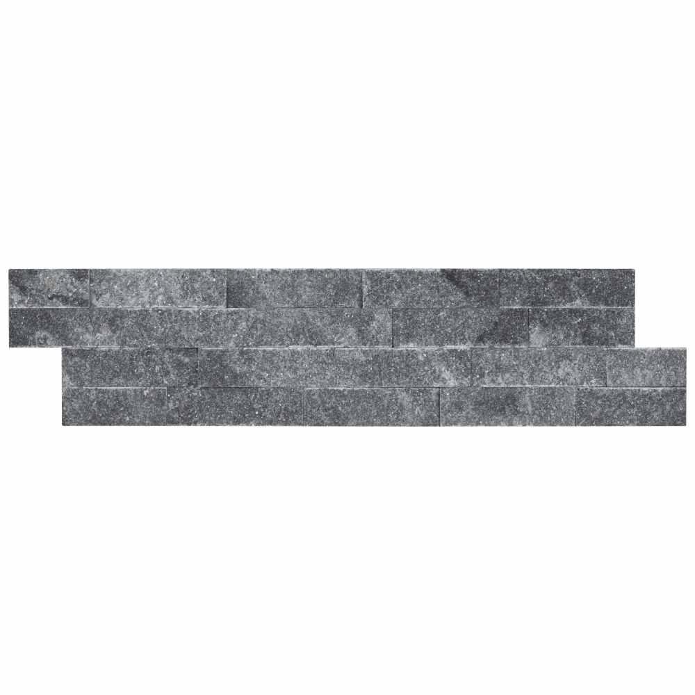 Cosmic Black Rockmount 6X24 Split Face Ledger Panel