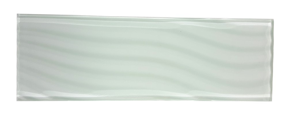 Pacific Collection Blanche 4X12 Glossy Glass Subway Tile