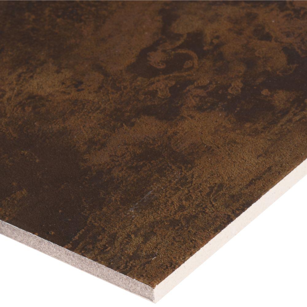 Antares Nickel Coal 20X20 Matte Porcelain Tile