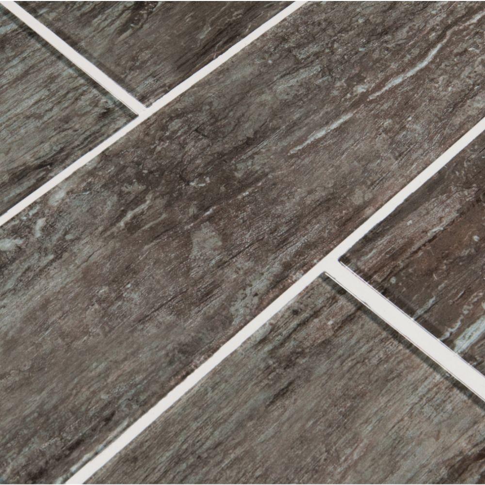 Antico Silversmith 4x12 Gray Subway Tile