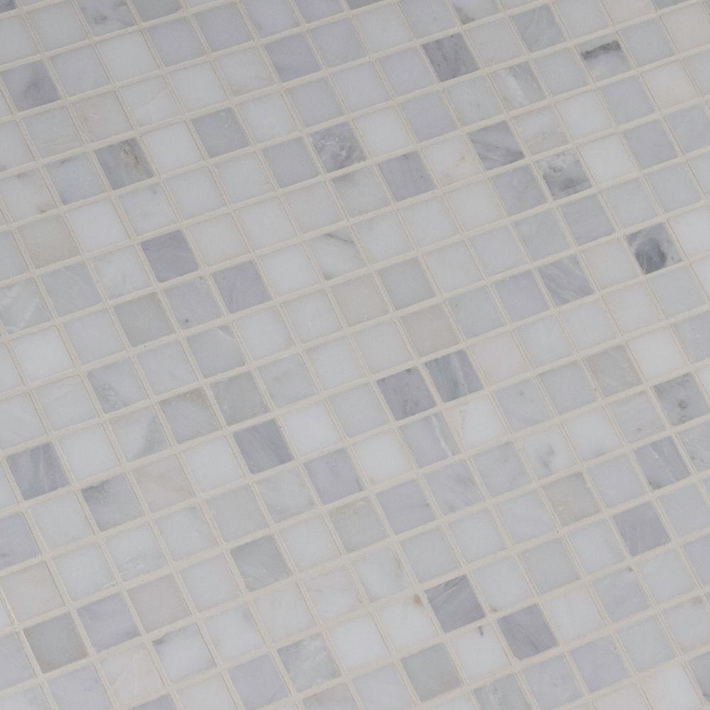 Arabescato Carrara 1x1 Honed