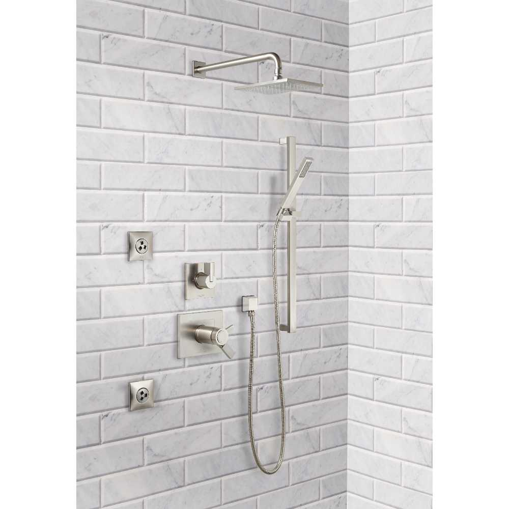 Arabescato Carrara 4X12 Honed Big Beveled Marble Subway Tile