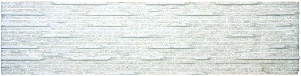 Aurora Ivory Marble 6X24 Grooved Marble Stone Veneer