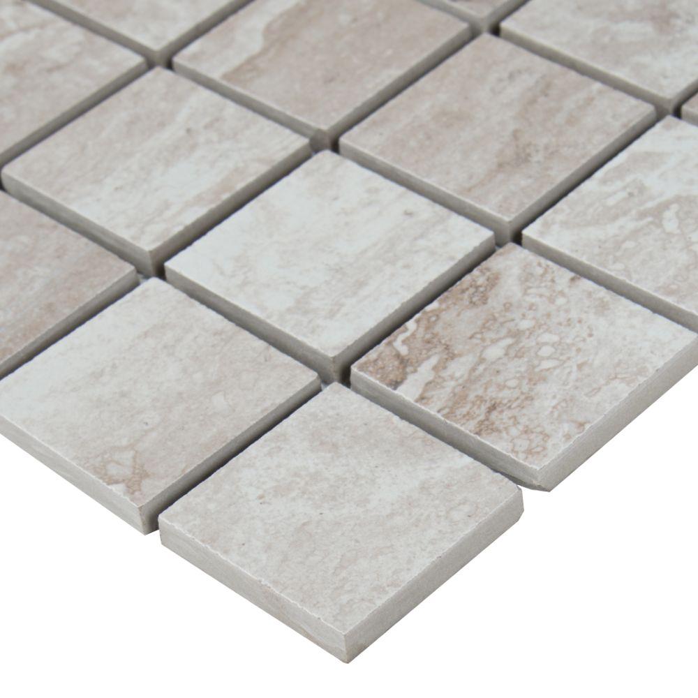 Bernini Camo Matte Mosaic Backsplash Tile Usa