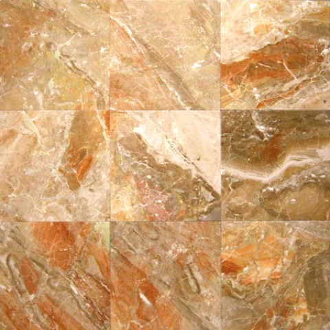 Breccia Oniciata 12X12 Polished