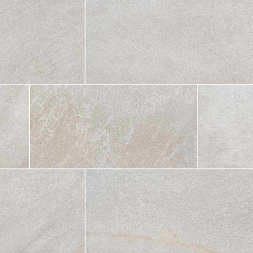 Brixstyle Blanco 2.4X24 Matte Bullnose Porcelain Tile