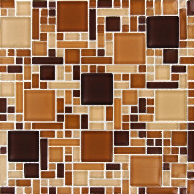 Chestnut Blend Magic Pattern 8MM