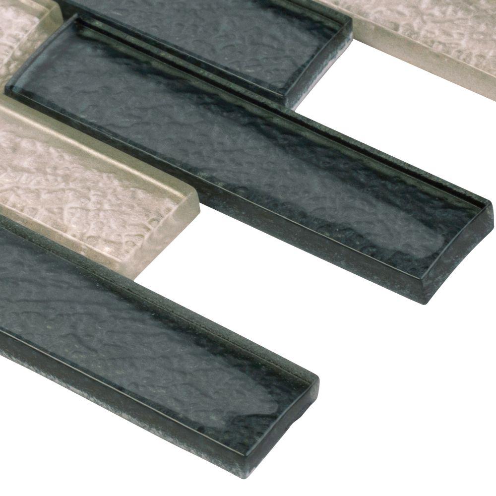 Cielo Brick 12X12 Crystallized Glass Blend