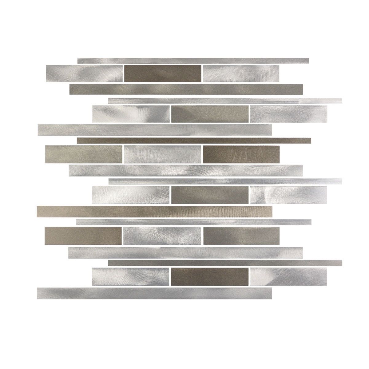 City Lights Collection San Francisco Aluminum Wide Tile