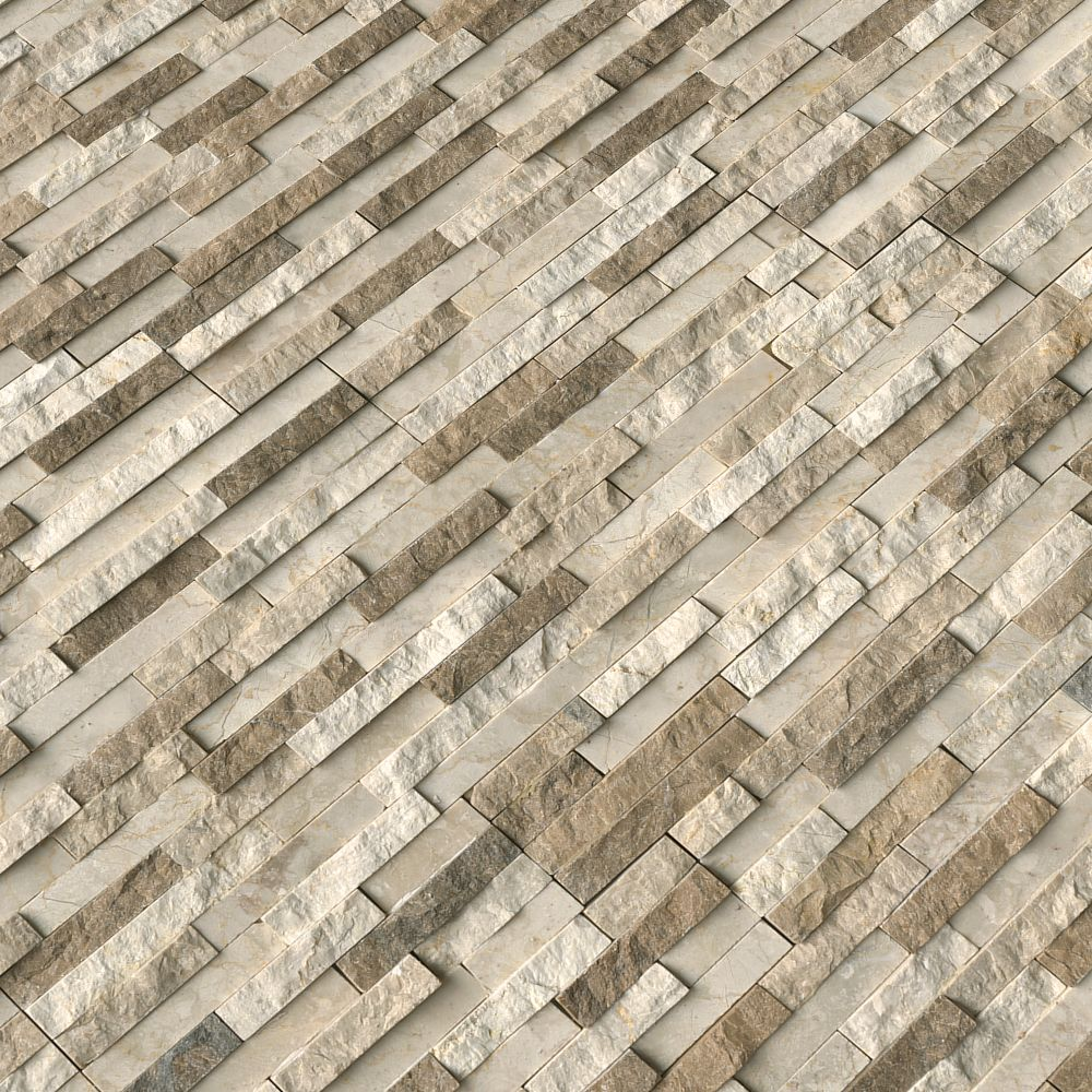 Colorado Canyon 6x24 Multi Finish Pencil Ledger Panel