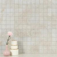 Essentials Ansello Ivory 2X2 Matte Ceramic Mosaic