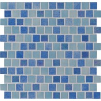 Hawaiian Coast 1X1 Staggered Glass Mosaic