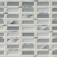 Icelandic Blend Pattern 8mm Glass Metal Stone
