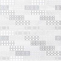 Abani 2X6 White Honed Encaustic Pattern Subway Tile