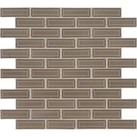 Artisan Taupe Glossy 2x6 Bevel Ceramic Subway Tile