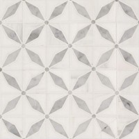 Bianco Starlite Polished Pattern Marble Tile