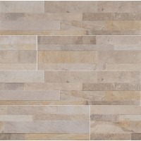 Canyon Cream 6X24 Matte Ledger Panel