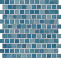 Carribean Reef 1X1 Staggered Glass Pool Tile
