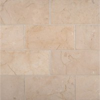 Crema Marfil 3X6 Subway Polished