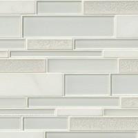 Fantasia Blanco Interlocking 12x18 Pattern Mosaic