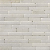 Greecian White 8x18 Tumbled Stone Veneer
