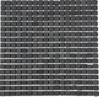 China Black 5/8x5/8 Tumbled Marble Mosaic