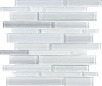Ice Block Random Strip Glass Mix Random Strip Mosaic