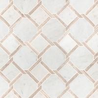 Marbella Lynx 12x12 Polished Pattern Marble Mosaic
