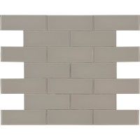 Pebble 3x9 Backsplash Glass Subway Tile