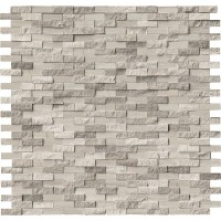 White Oak Splitface Interlocking Pattern Mosaic