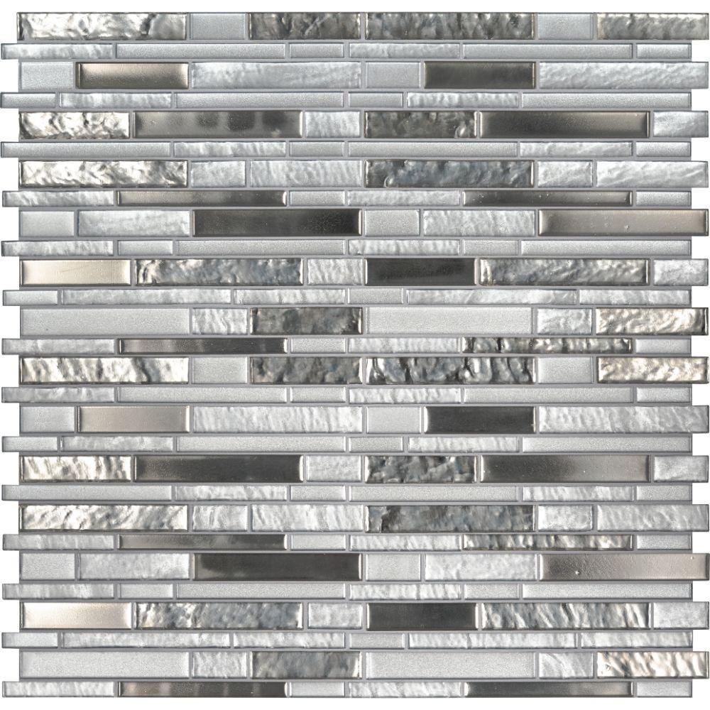Adara Interlocking Pattern 8mm Glass Tile