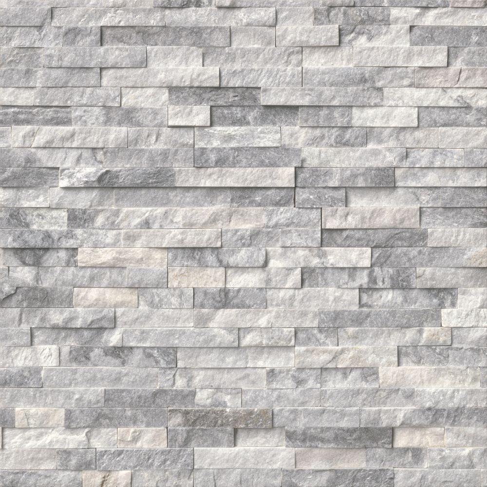 Alaska Gray 6x24 Split Face Ledger Panel