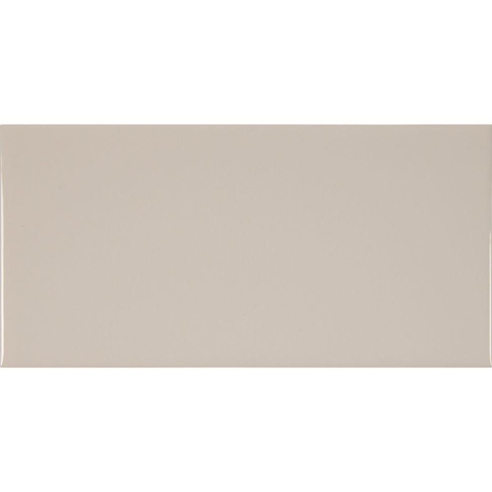 Almond 3X6 Glossy Subway Tile