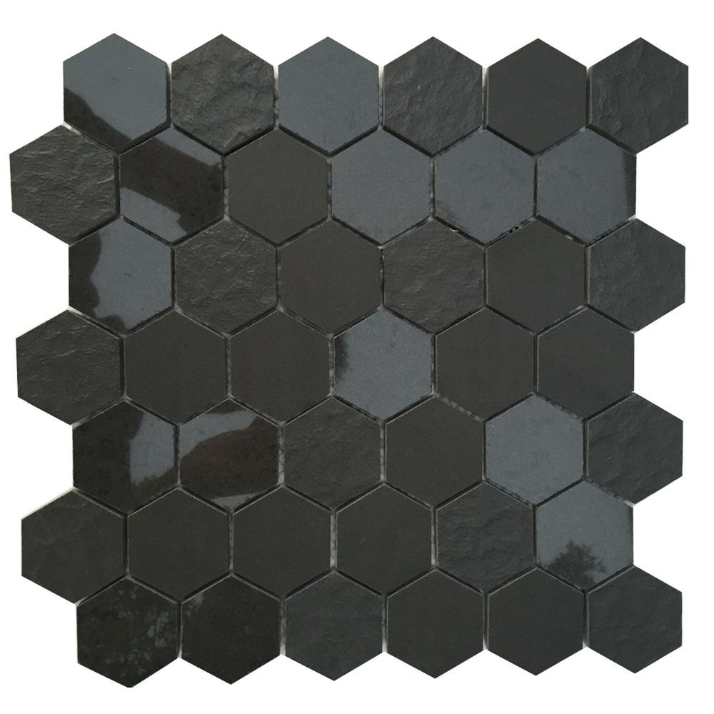 Ancient Sky 2x2 Hexagon Porcelain Mosaic