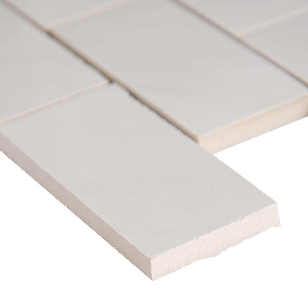 Aria Bianco 2X4 Polished Mosaic