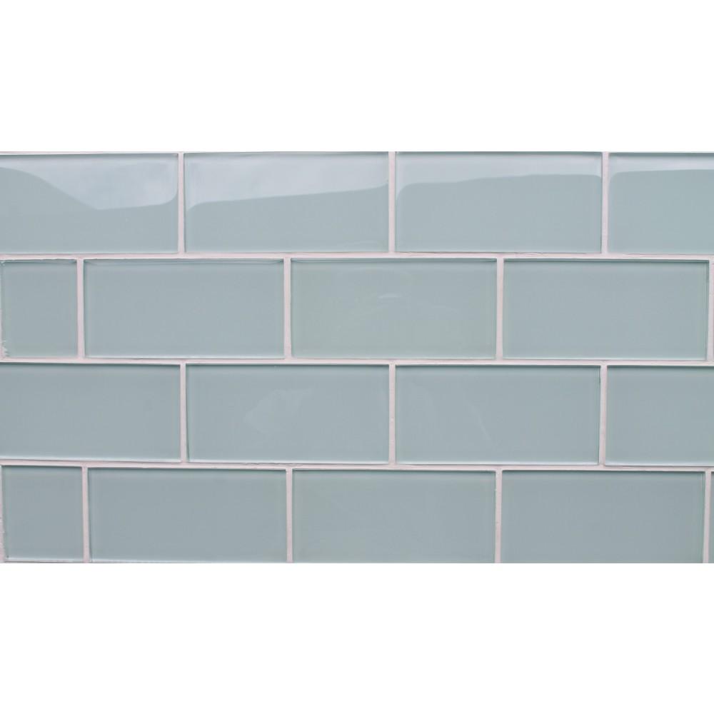 Azure-Glass 3x6 Subway Tile
