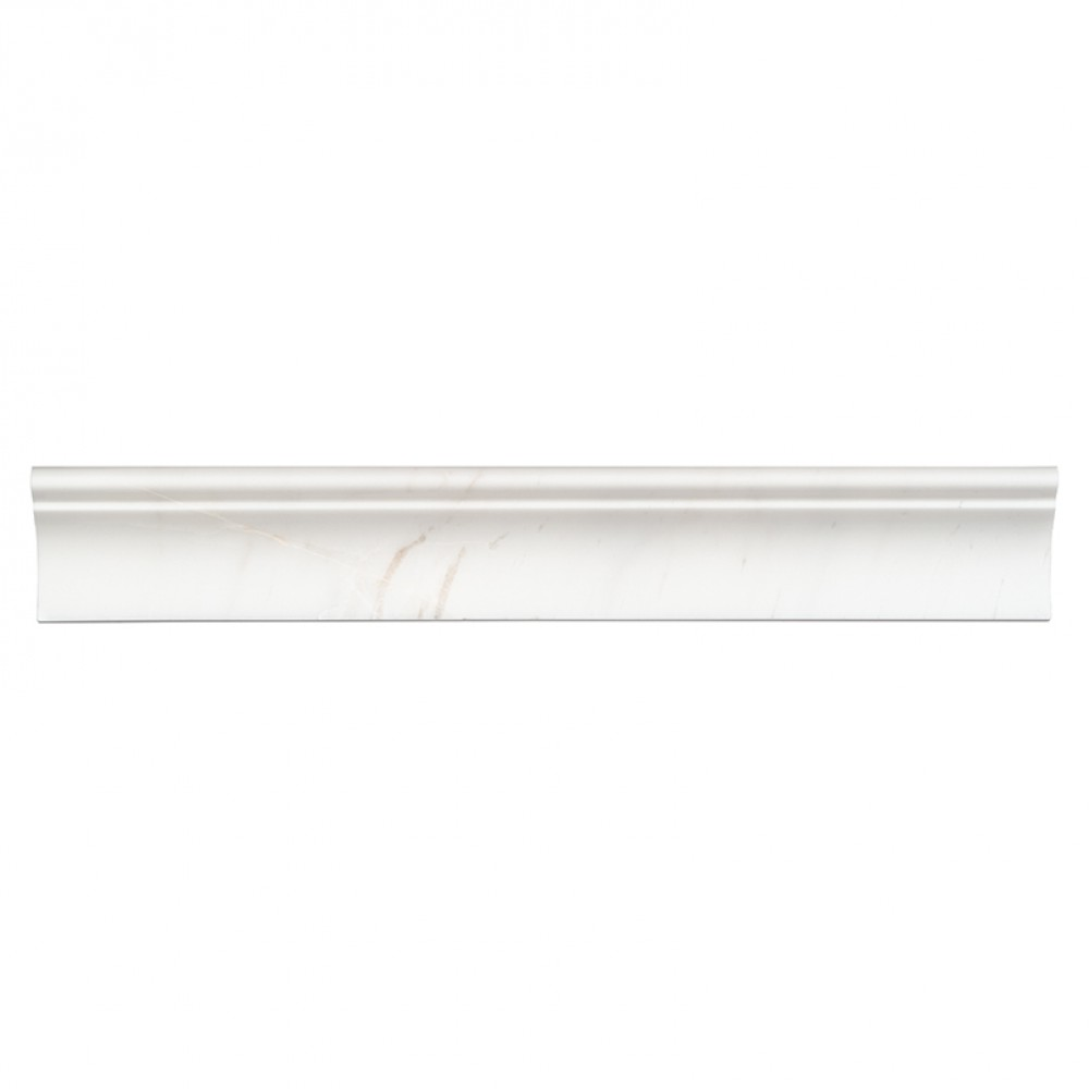 Bianco Dolomite 2X12 Cornice Molding Polished