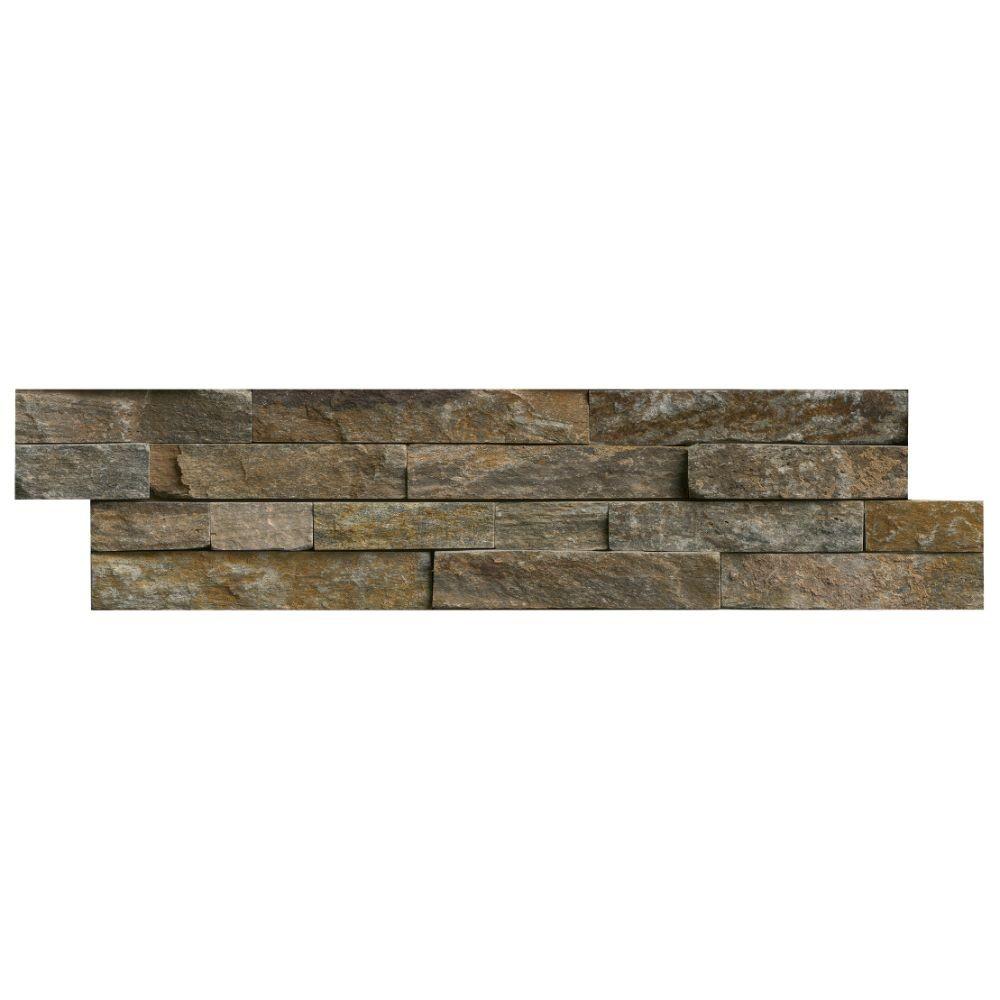Canyon Creek 6x24 Splitface Ledger Panel