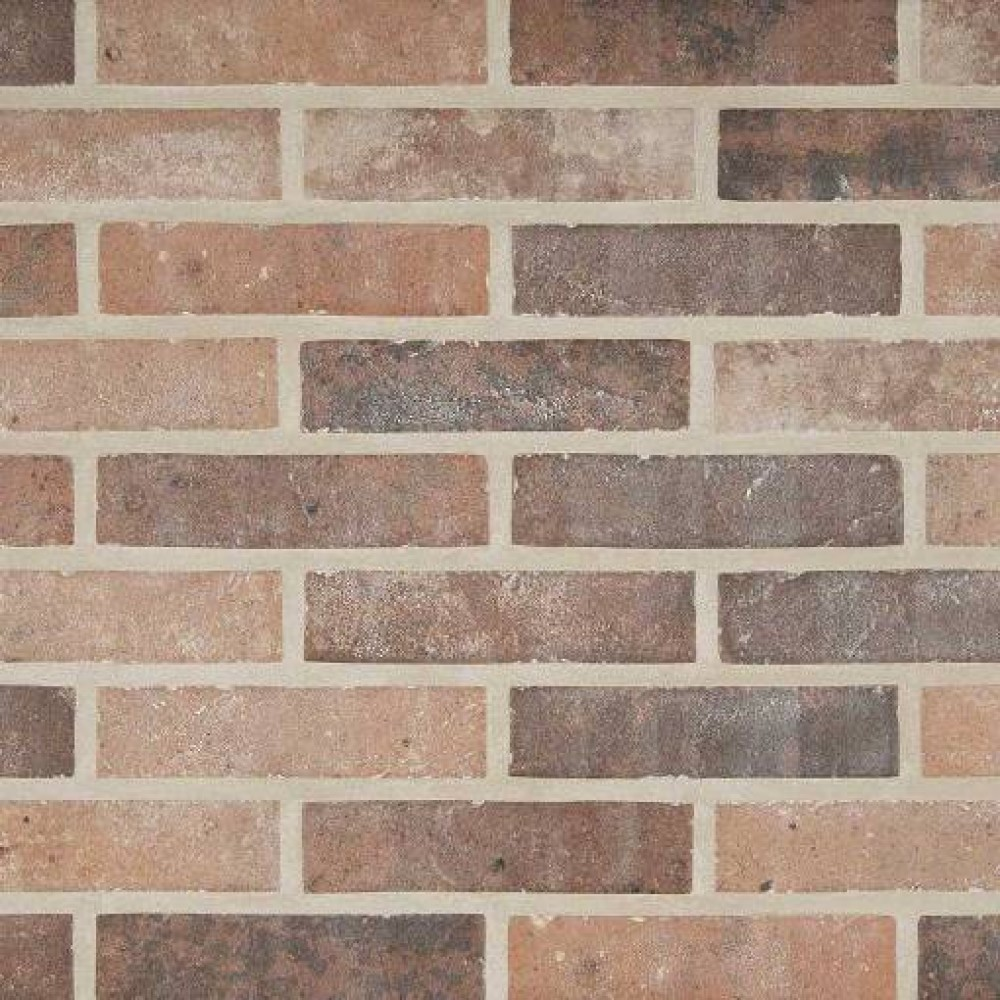 Rustico Brick 2-1/3X10 Matte Porcelain Floor and Wall Tile