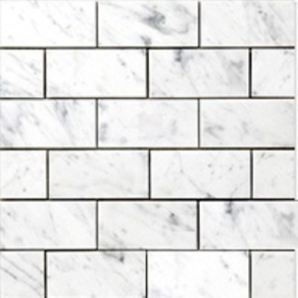 Carrara Marble Subway Tile