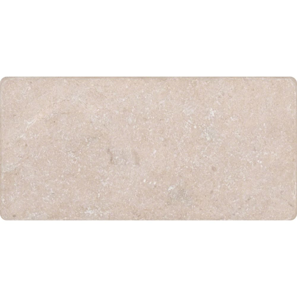 Crema Marfil 3X6 Subway Tumbled