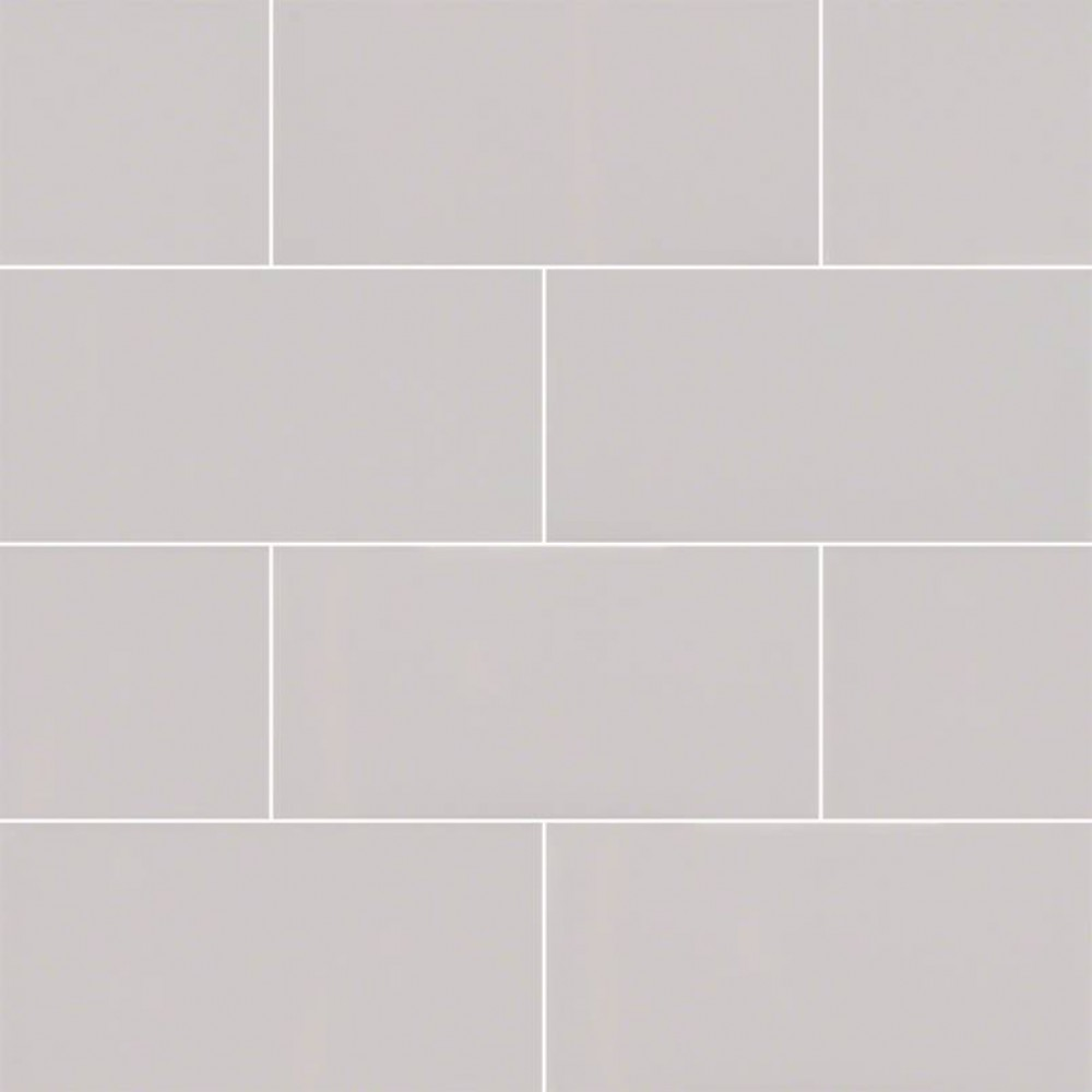 Domino Gray 3x6 Glossy Subway Tile Backsplash Tile Usa