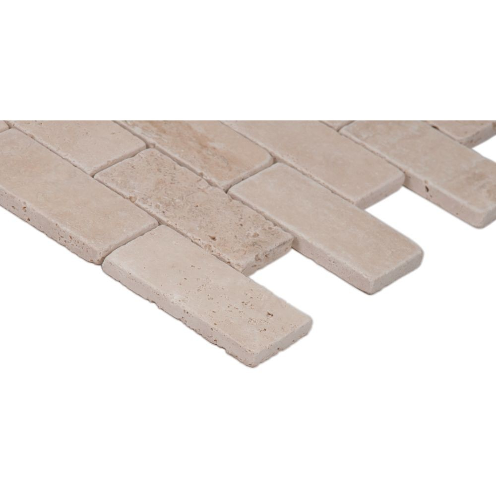 Durango Brick 2X4 Tumbled Subway Tile