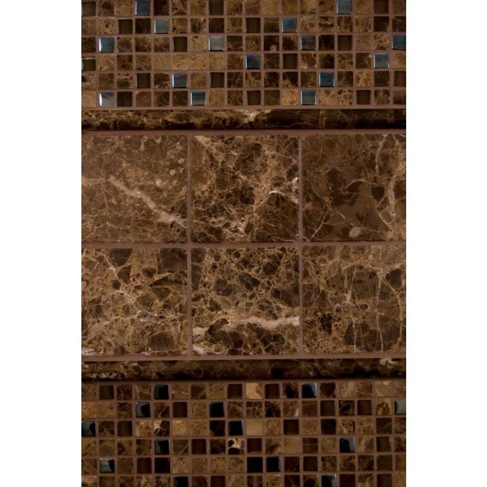 Emperador Glass Stone Blend 5/8x5/8