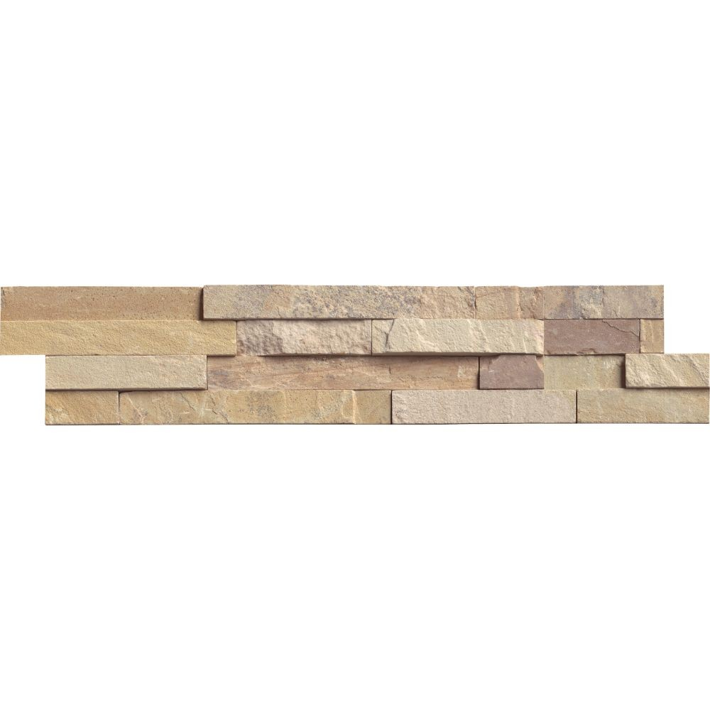 Fossil Rustic 6x24 Split Face Ledger Panel
