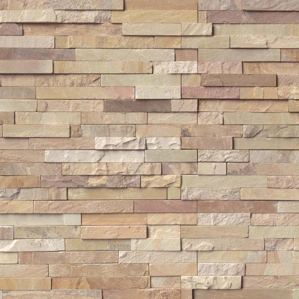 Fossil Rustic Corner Ledger Panel 6X18X6 Split Face