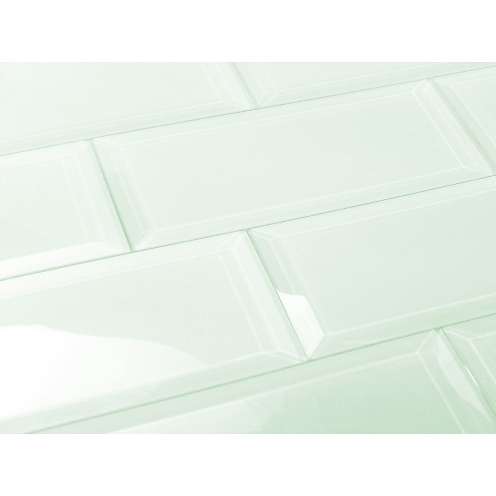 Frosted Elegance Marie 3X12 Glossy Glass Subway