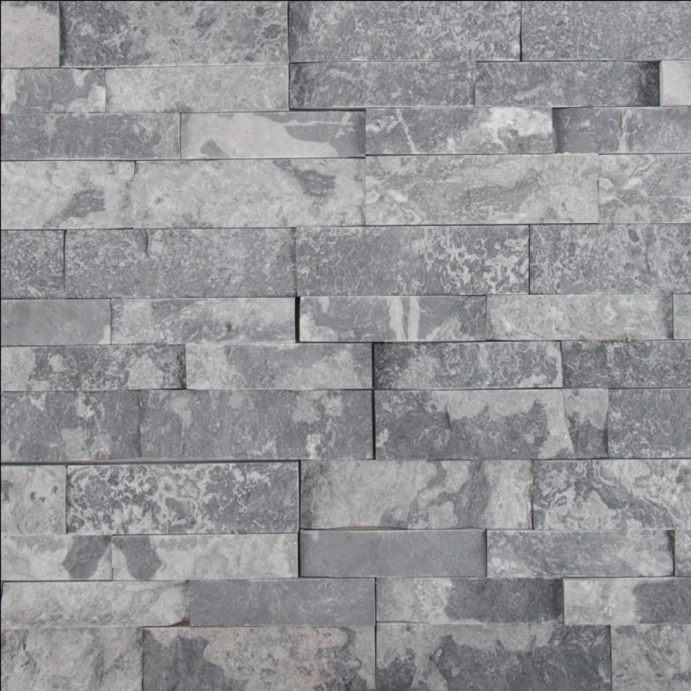 Glacial Grey 6X12X6 Split Face Corner Ledger Panel